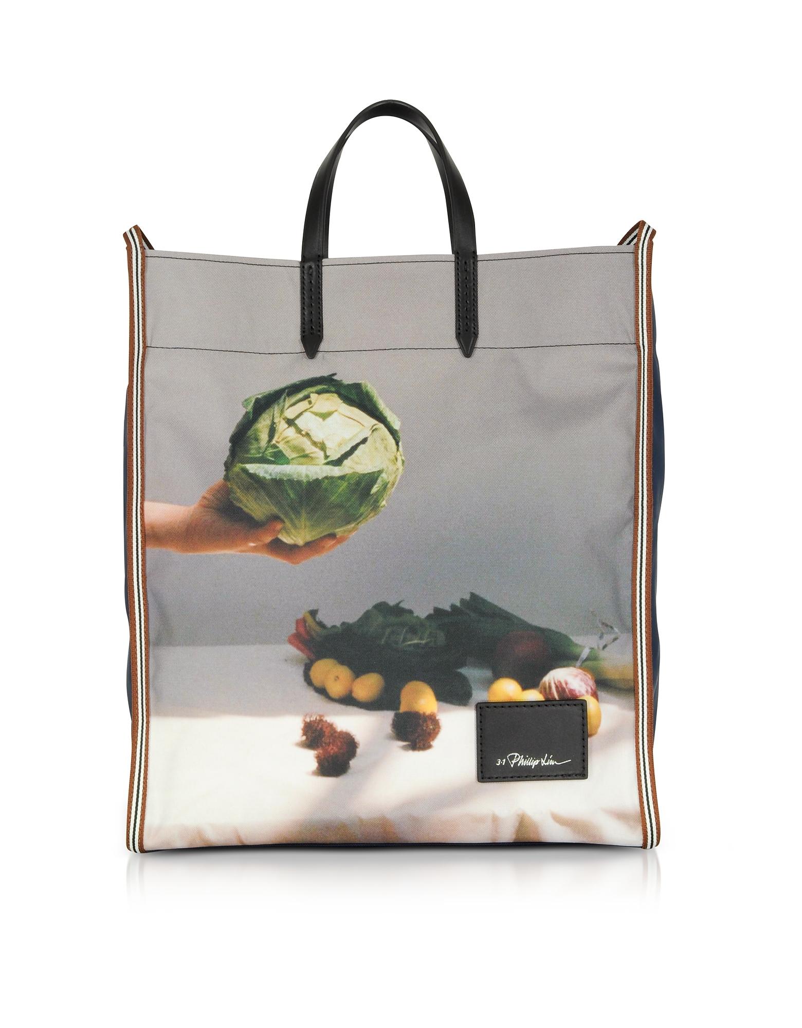 3.1 Phillip Lim Handbags, Henry Double Strap Market Tote Bag