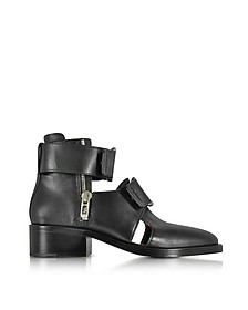 Black Leather Addis Cut Out Boot - 3.1 Phillip Lim