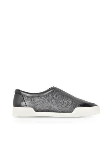 3.1 Phillip Lim Morgan - Sneakers en cuir texturé