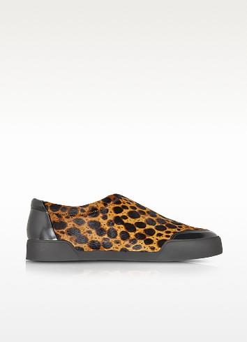 Morgan Animal Print Haircalf Low Top Sneaker - 3.1 Phillip Lim