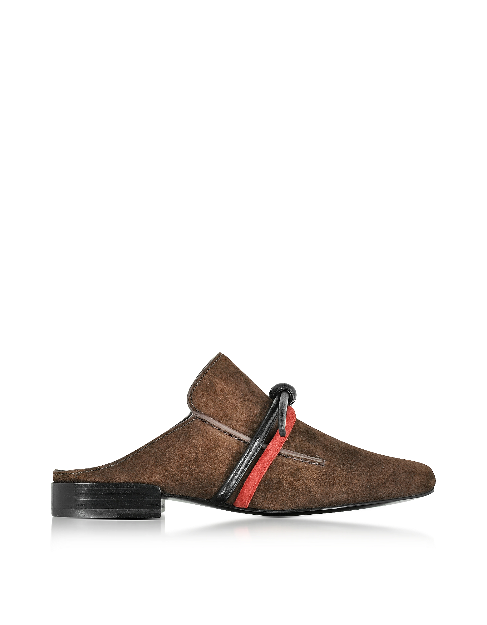 3.1 Phillip Lim Shoes, Louie Espresso Suede Mule