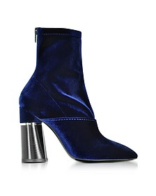Kyoto Bootie in Velluto Stretch Blue Royal - 3.1 Phillip Lim