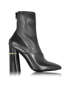 Kyoto Black Leather Stretch Boot - 3.1 Phillip Lim