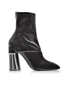 Kyoto 黑色天鹅绒弹力高跟踝靴 - 3.1 Phillip Lim 菲利林 3.1