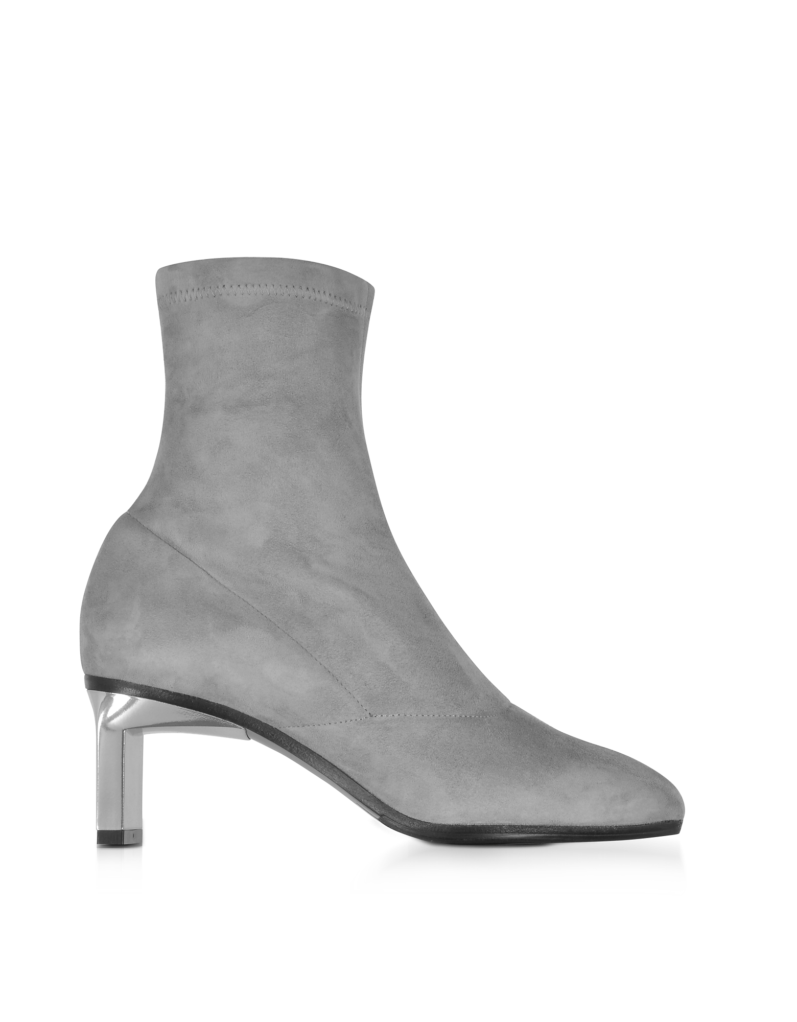 3.1 Phillip Lim Shoes, Blade Fog Suede Mid Heel Ankle Boots