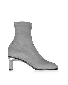 Blade Fog Suede Mid Heel Ankle Boots - 3.1 Phillip Lim