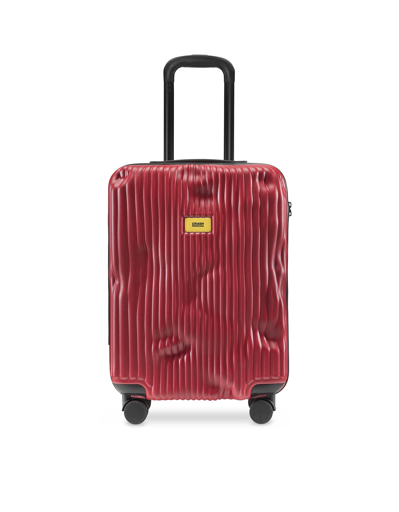 Crash Baggage Travel Bags, Stripes Carry-On Trolley