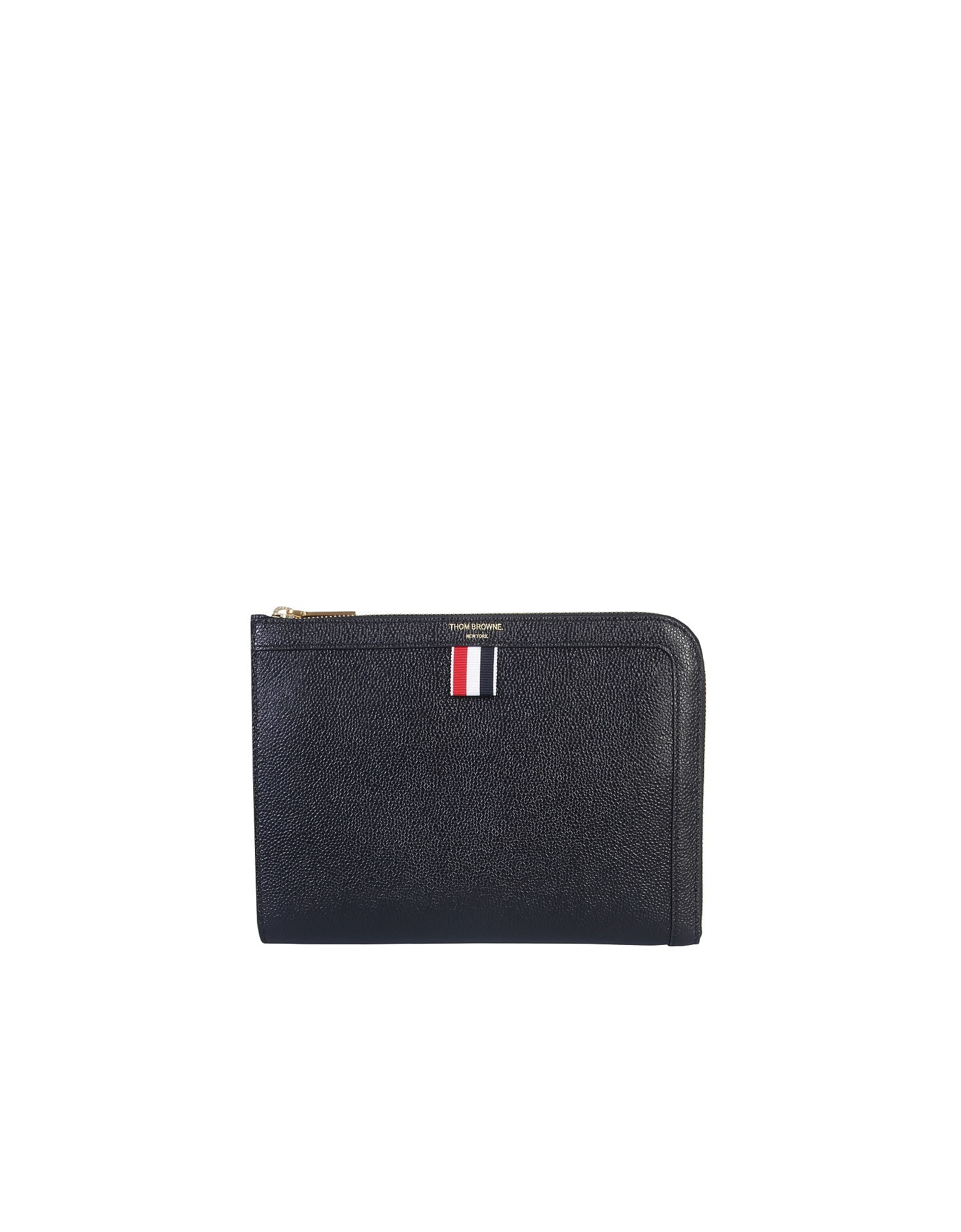 Thom Browne Designer Men's Bags, Small Document Holder