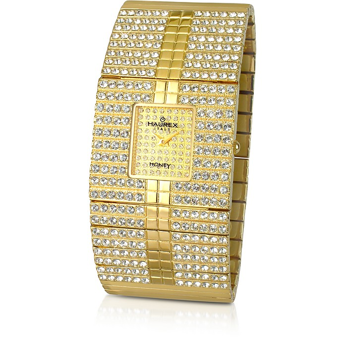 Honey - Gold Plated Dress Watch  - Haurex