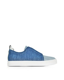 Denim Slider Sneaker - Pierre Hardy
