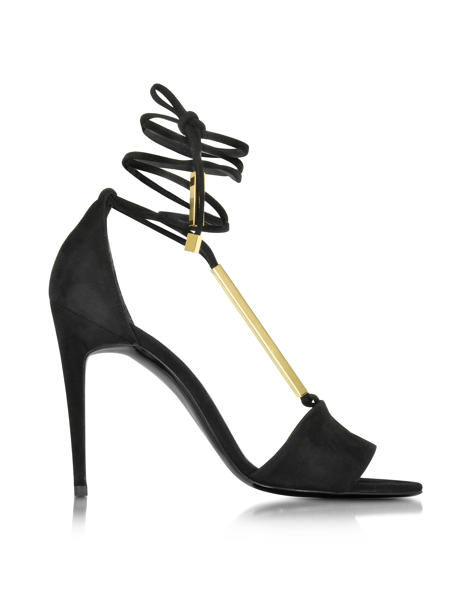 Pierre Hardy Shoes, Blondie Black Suede Sandal