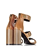 Penny Camel Leather High Heel Sandal - Pierre Hardy