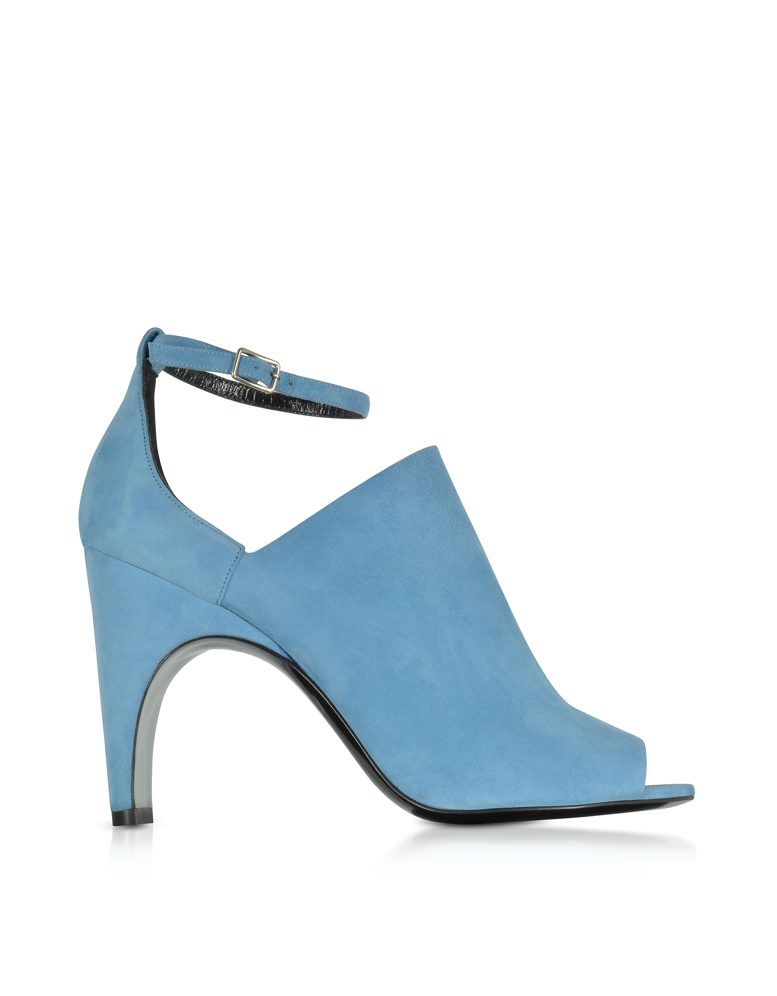 Pierre Hardy Shoes, Blue Suede High Heel Sandals