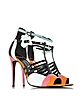 Patent Leather and Kid Pink Alchimia High Heeled Sandal - Pierre Hardy