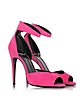 Flash Pink Suede Sandal - Pierre Hardy