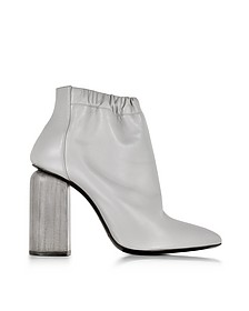 Flex Grey Leather Ankle Boot - Pierre Hardy