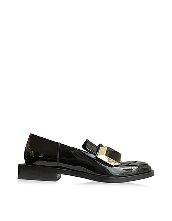 Hardy Dandy Black Patent Leather Loafer