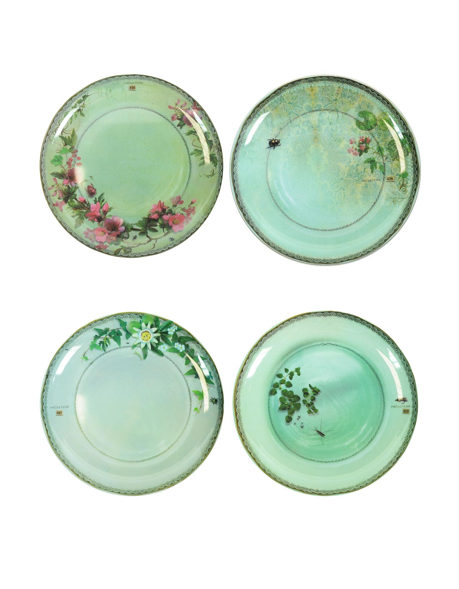 Yuan Gray Set of 4 Extra Plates от Forzieri.com INT
