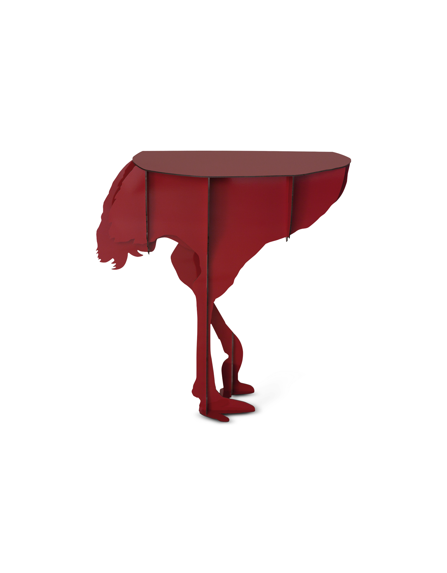 Image of Diva - Ostrich Wall Table
