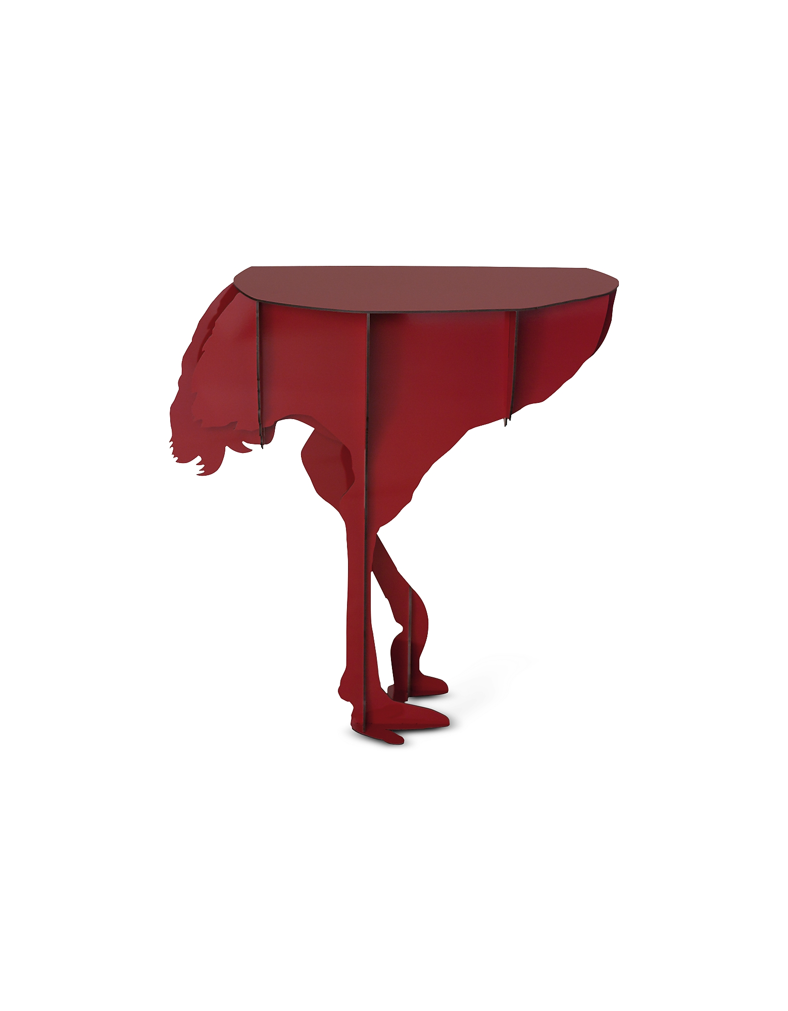 Ibride Designer Decor  Lighting Diva  Ostrich Wall Table