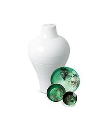 Service vaisselle blanc - Ibride