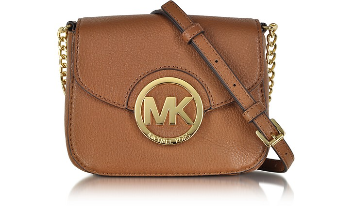 Fulton Luggage Leather Small Crossbody Bag - Michael Kors