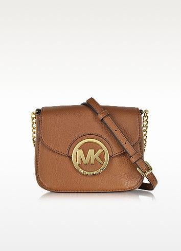 Fulton Luggage Leather Small Crossbody Bag - Michael Kors / マイケル コース