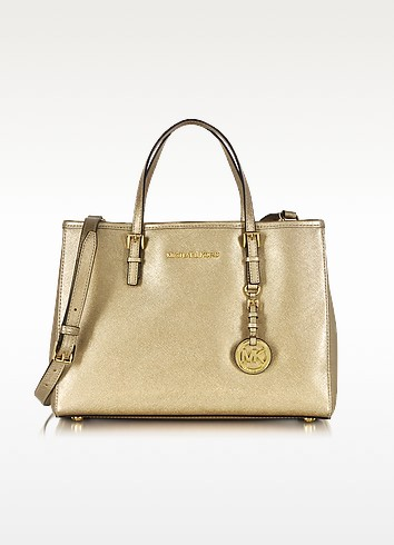 Michael Kors Jet Set Travel Saffiano Leather Tote