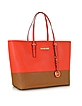 Jet Set Travel Medium Color-Block Tote - Michael Kors