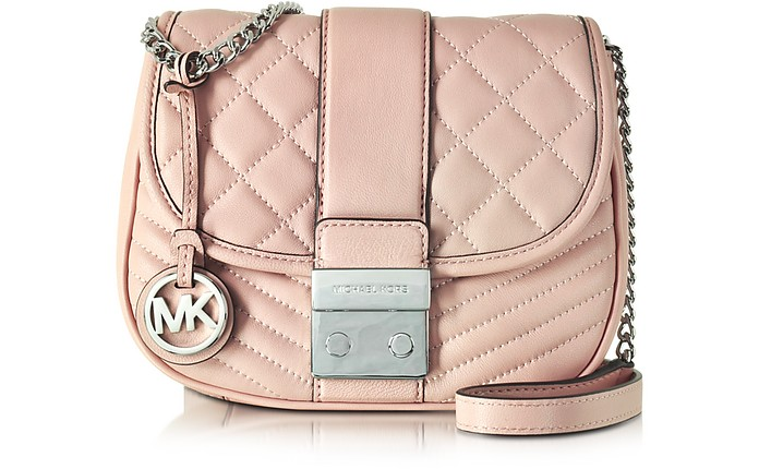 Elisa Leather Medium Crossbody Bag - Michael Kors