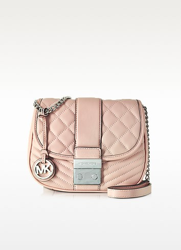 Elisa Leather Medium Crossbody Bag - Michael Kors