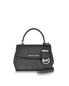 Ava Black Saffiano Leather XS Crossbody Bag - Michael Kors