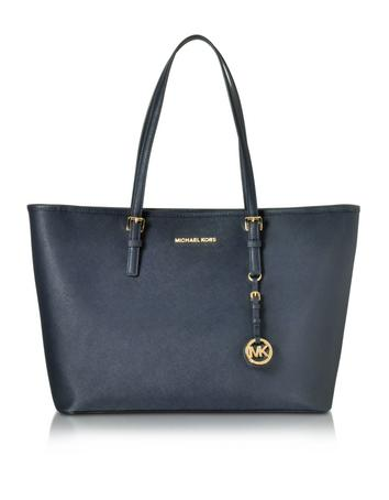 michael kors female admiral jet set travel saffiano leather medium t z tote