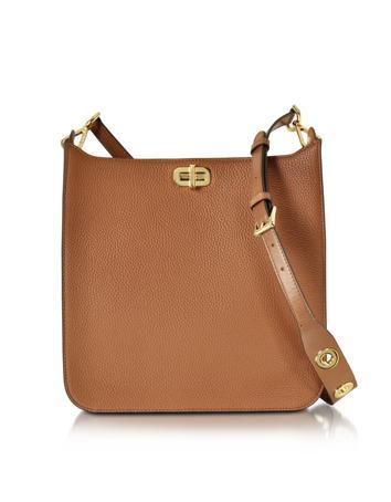 michael kors female sullivan large ns leather messenger bag