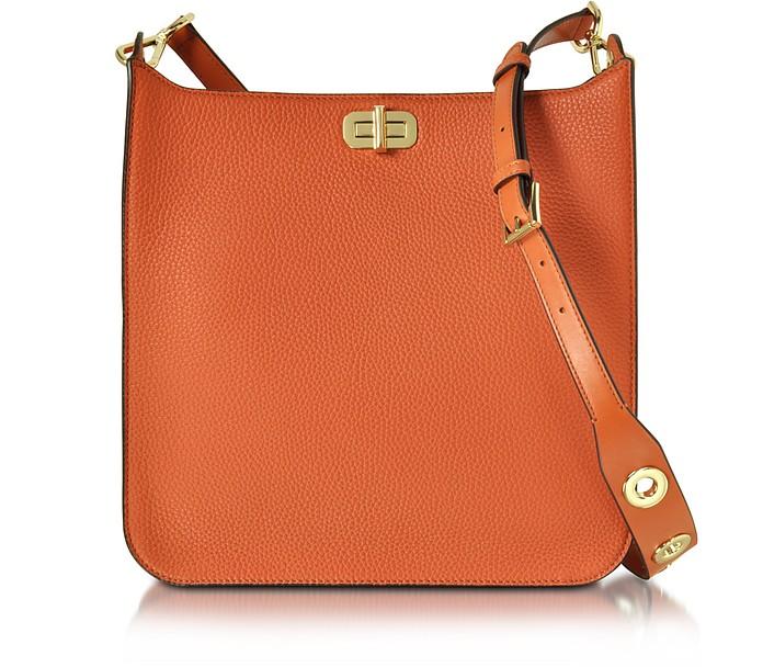 Sullivan Large NS Leather Messenger Bag - Michael Kors