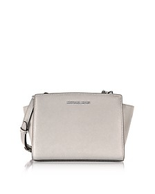 Selma Medium Saffiano Leather Messenger - Michael Kors