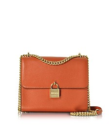 Mercer Large Pebble Leather Messenger Bag - Michael Kors