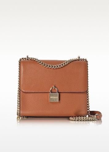 Mercer Large Pebble Leather Messenger Bag - Michael Kors
