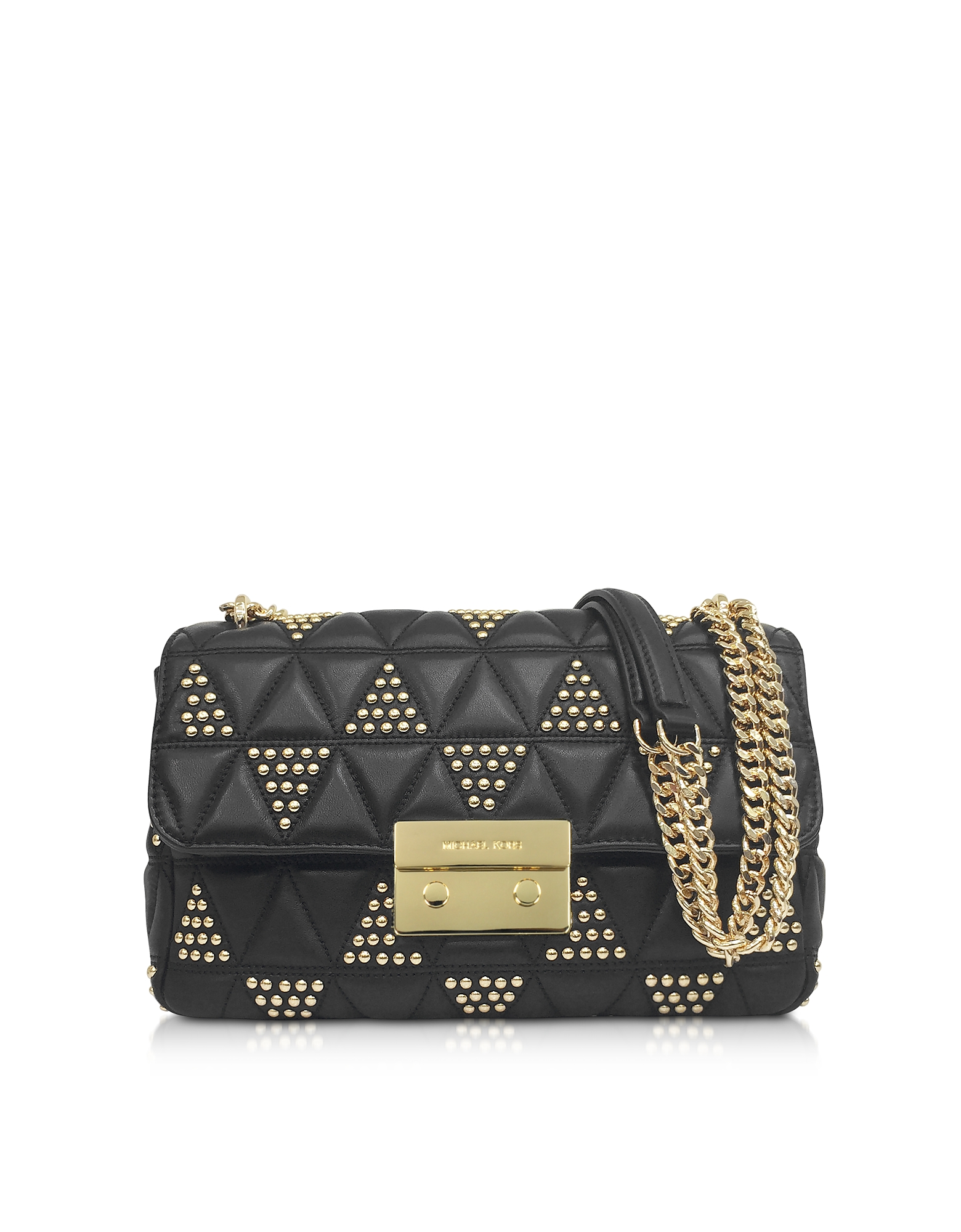 Michael Kors Handbags, Sloan Large Studded Leather Shoulder Bag