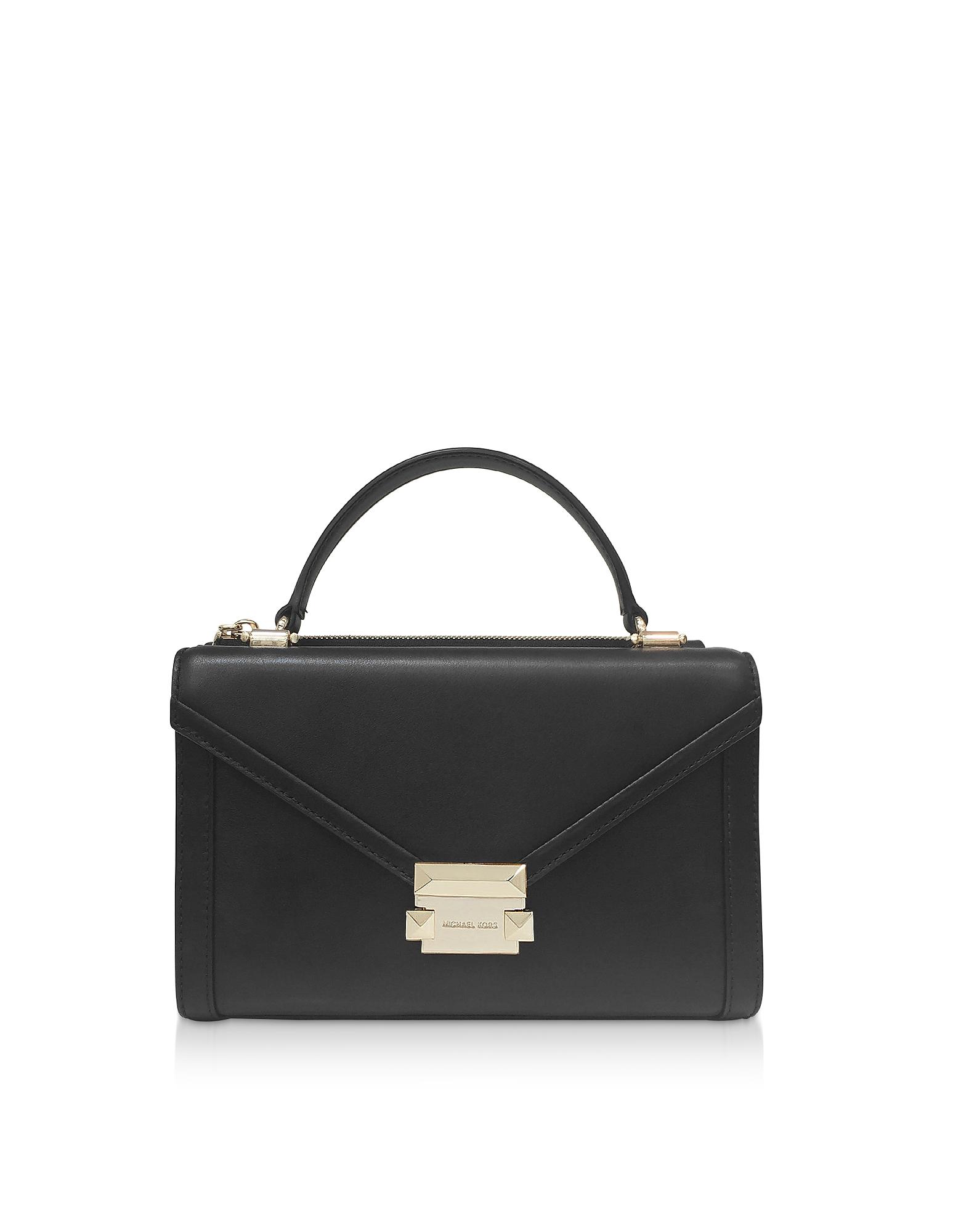 Whitney Small Convertible Top-Handle Messenger Bag