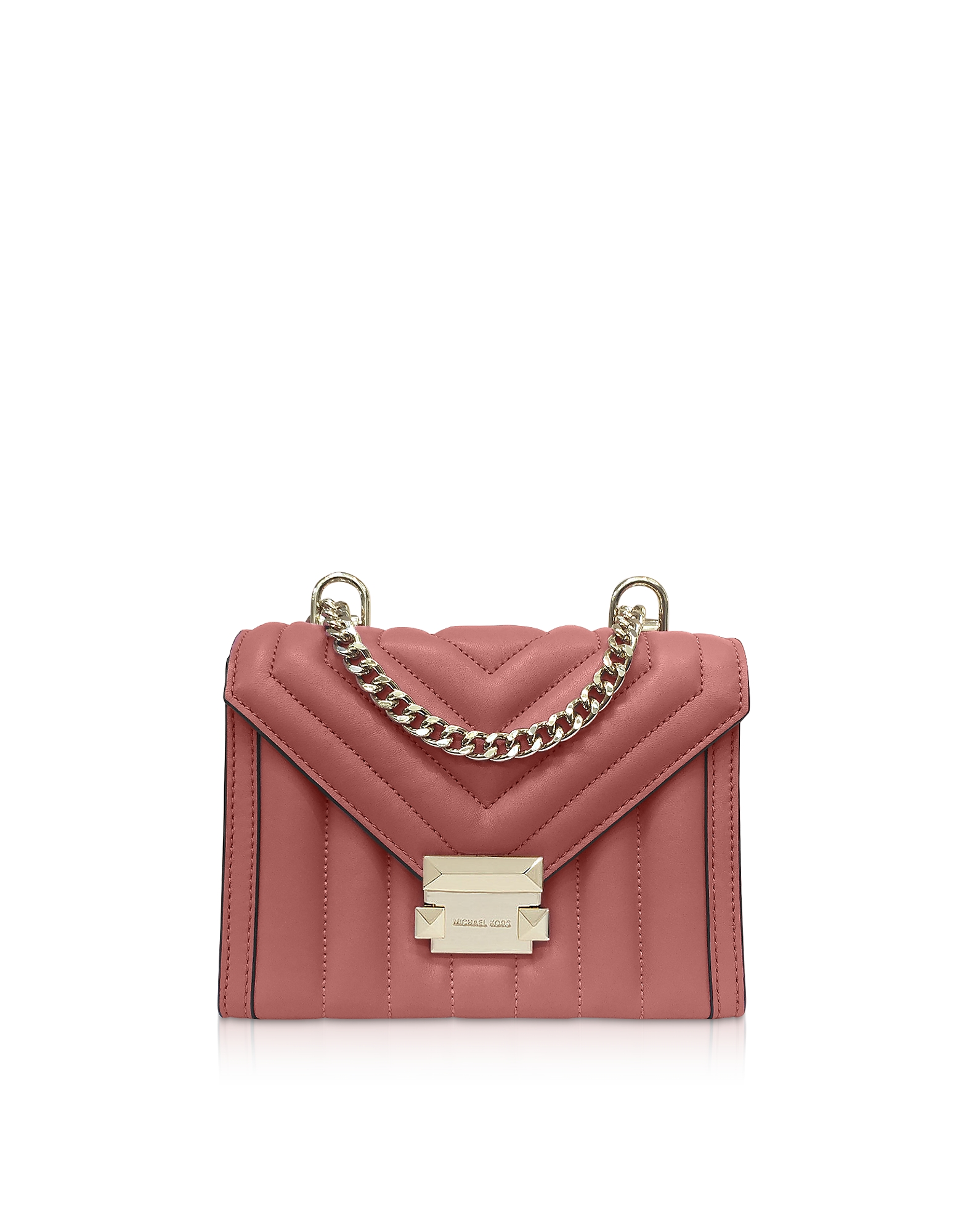 Whitney Small Rose Quilted Leather Convertible Shoulder Bag