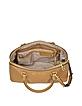 Cindy Large Peanut Saffiano Leather Satchel - Michael Kors