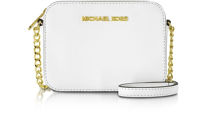 Jet Set Travel Small Saffiano Leather Crossbody - Michael Kors