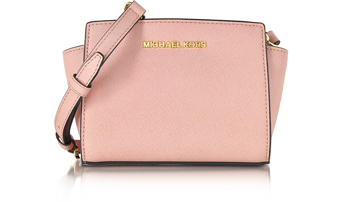 Selma Saffiano Leather Mini Messenger - Michael Kors