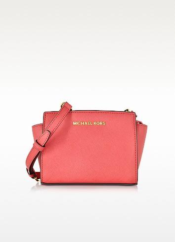 Selma Saffiano Leather Mini Messenger - Michael Kors