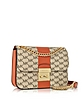 Sloan Editor Medium Center Stripe and Heritage Signature Chain Shoulder Bag - Michael Kors