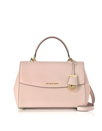 Michael Kors - Ava Medium Soft Pink Saffiano Top Handle Satchel