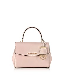 Ava Soft Pink Saffiano Leather XS Crossbody Bag - Michael Kors