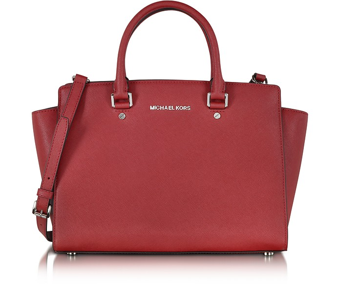 Large Selma Top-Zip Satchel - Michael Kors