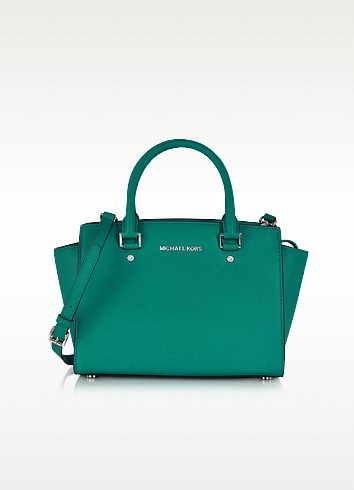 Medium Selma Top-Zip Satchel - Michael Kors